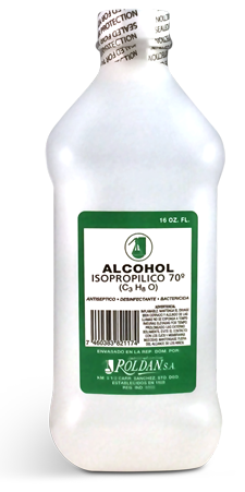 Alcohol isopropilico  70 (C3 H8 O)