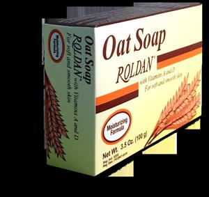 Jabón de avena Roldan