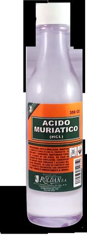 Ácido muriático (HCL)