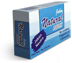 Jabón natural Roldan