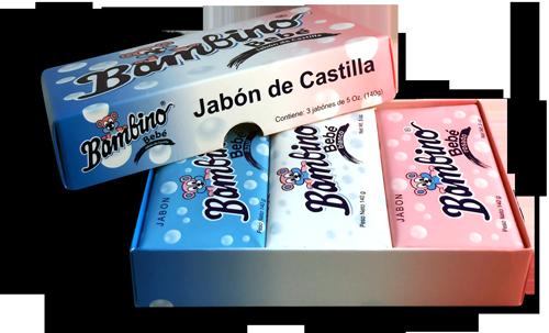 Set de regalo  Jabón castilla Bambino bebé