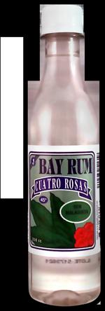 Bay Rum Cuatro Rosas