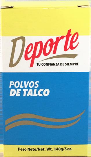 Polvo de Talco Deporte