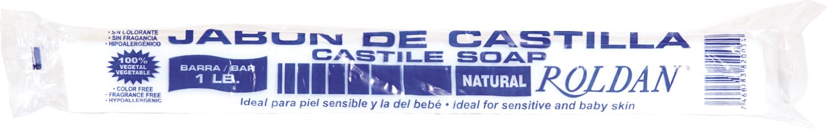 Jabón de Castilla Roldan